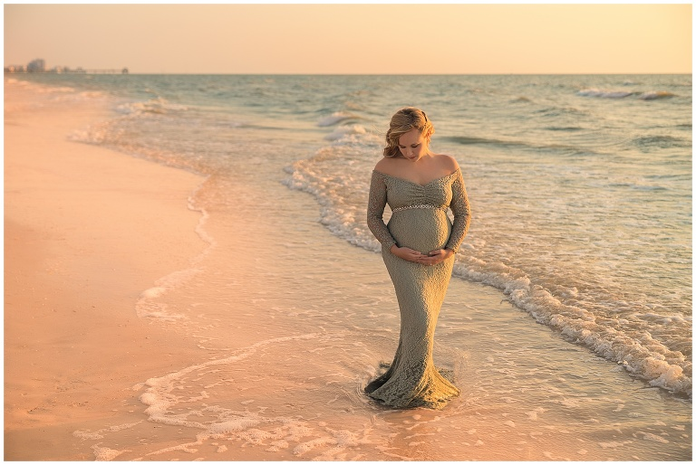 maternity beach photography